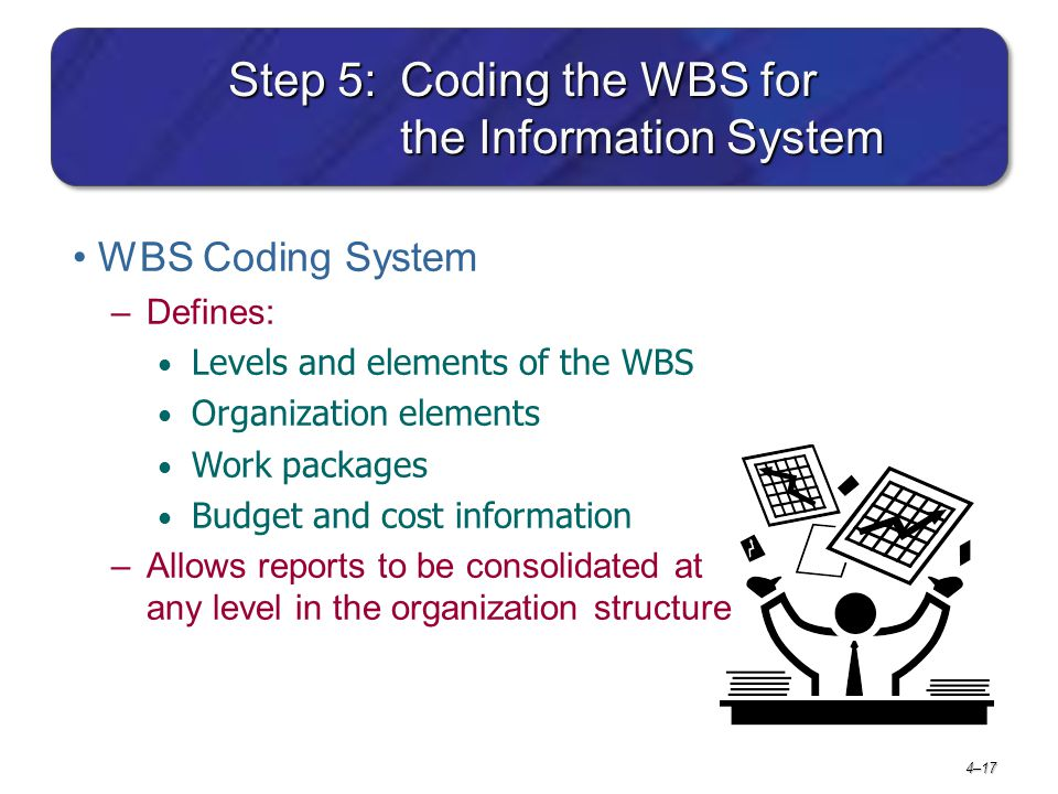 Step 5: Coding the WBS for the Information System