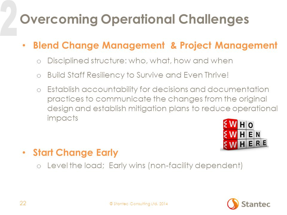 Overcoming Operational Challenges
