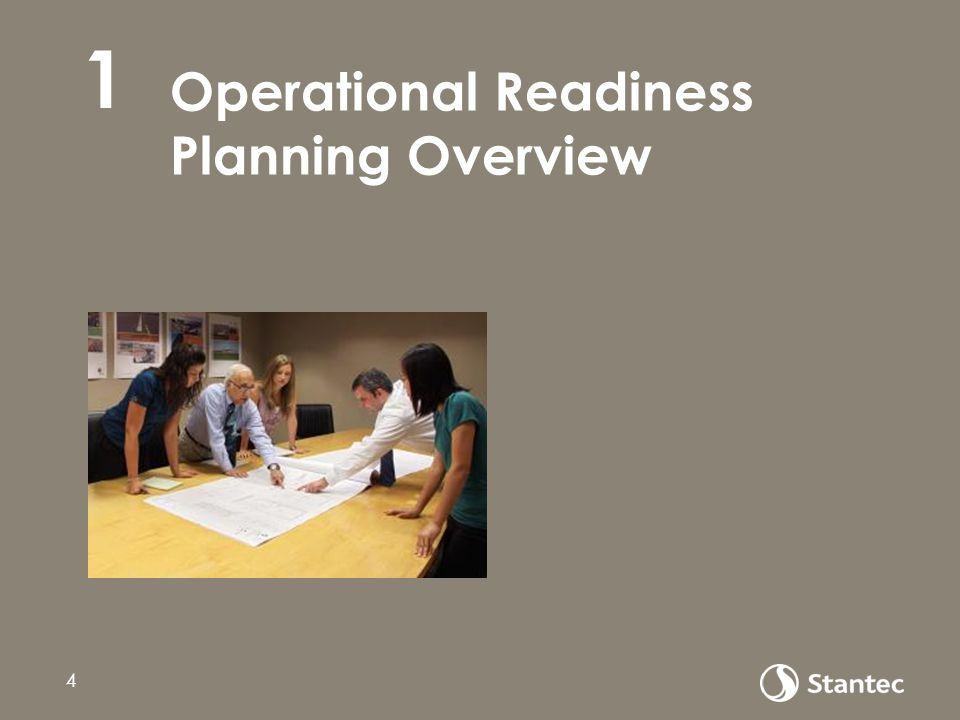 Operational Readiness Planning Overview