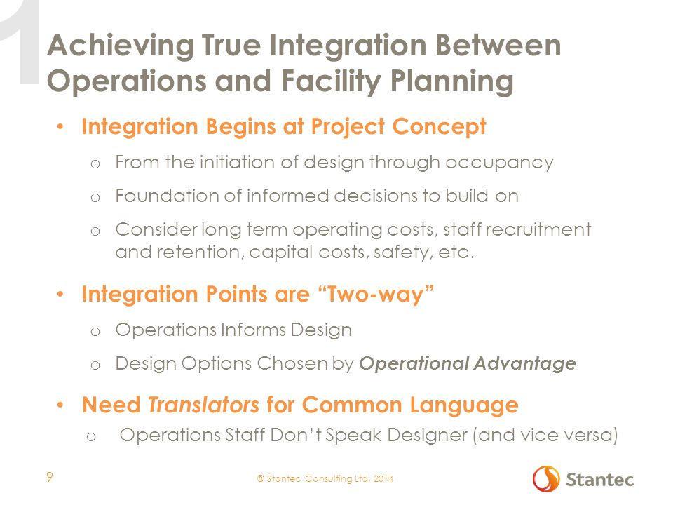 Achieving True Integration Between Operations and Facility Planning