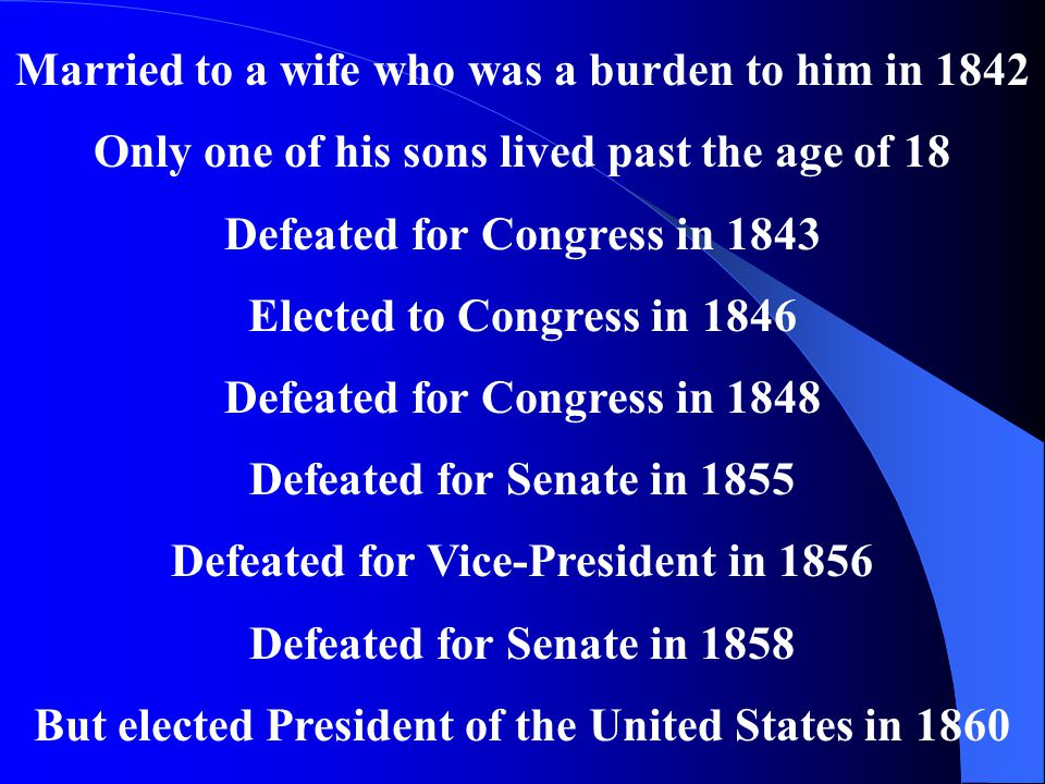 Married to a wife who was a burden to him in 1842
