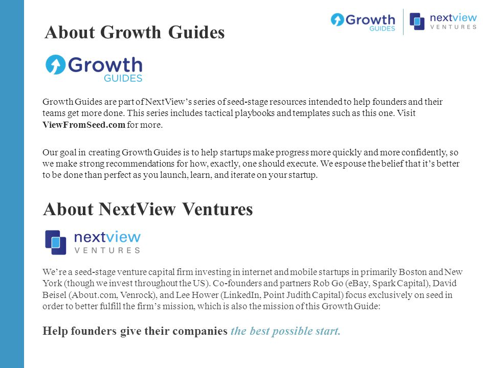About NextView Ventures