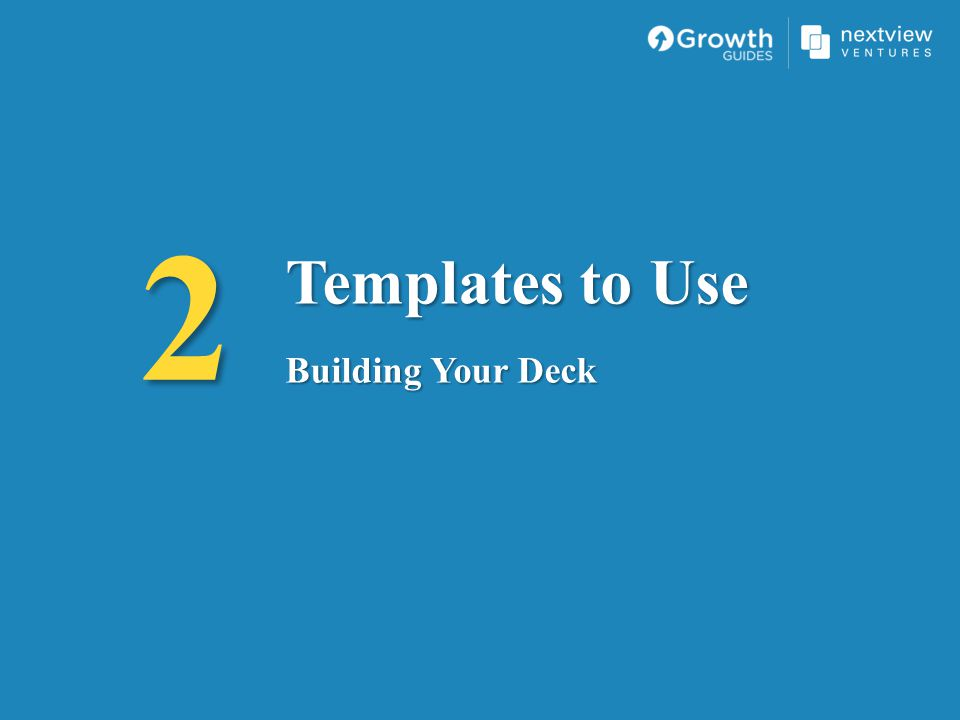 2 Templates to Use Building Your Deck