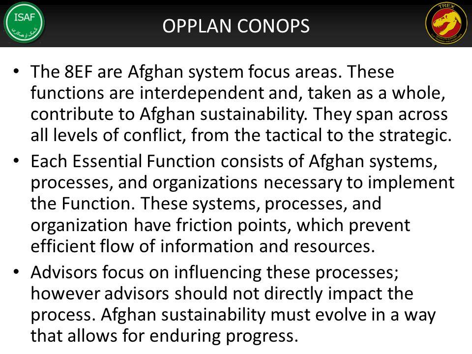 OPPLAN CONOPS