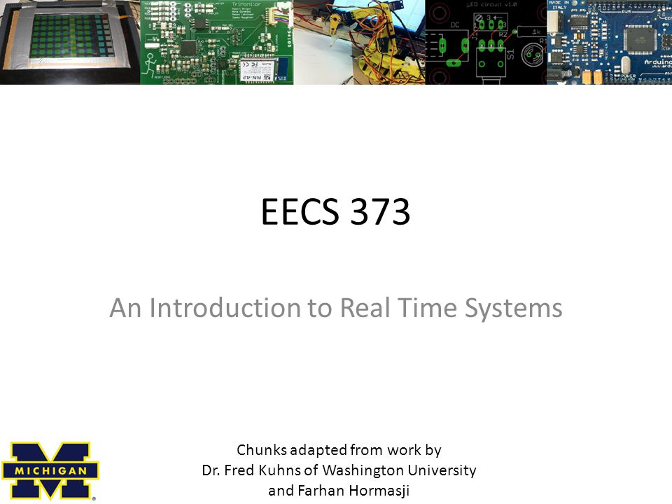 An Introduction to Real Time Systems