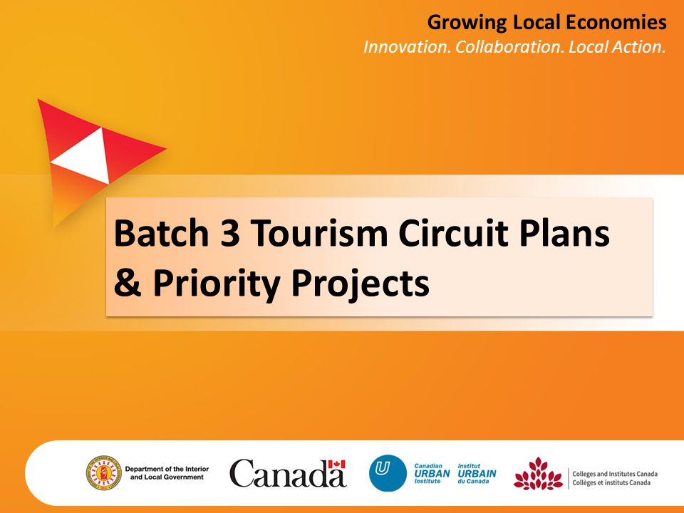 Batch 3 Tourism Circuit Plans & Priority Projects