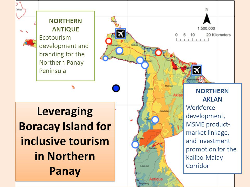 Leveraging Boracay Island for inclusive tourism in Northern Panay