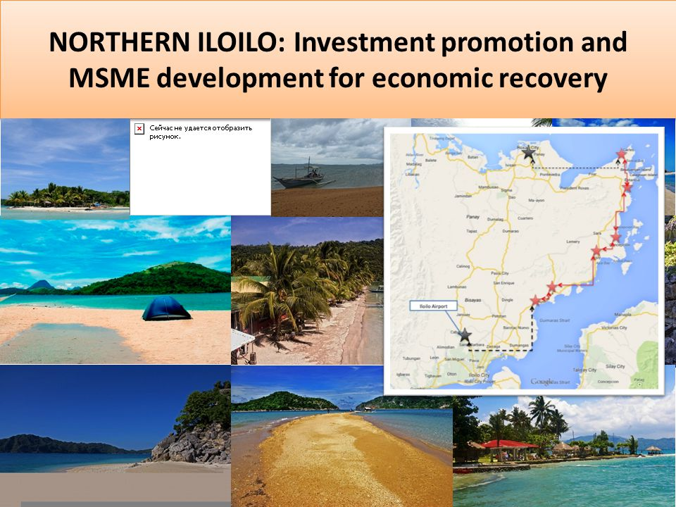 NORTHERN ILOILO: Investment promotion and MSME development for economic recovery