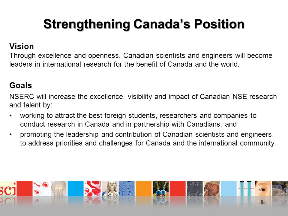 Strengthening Canada's Position