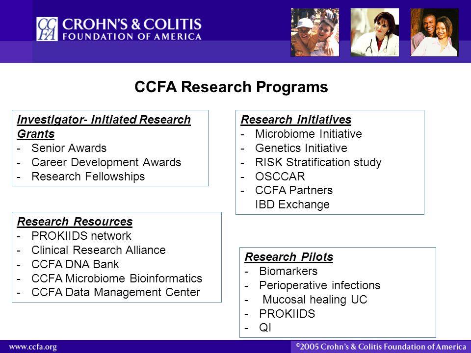 CCFA Research Programs
