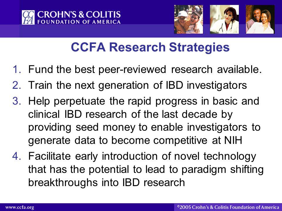 CCFA Research Strategies