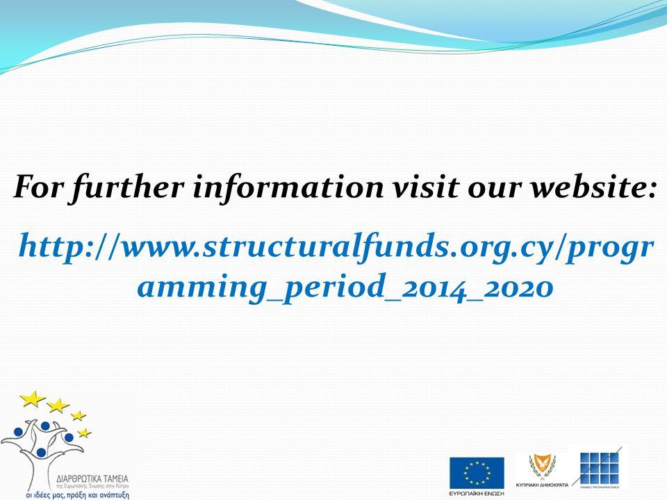 For further information visit our website: