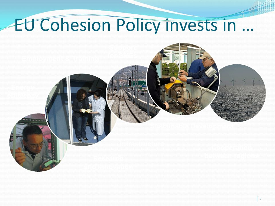 EU Cohesion Policy invests in …