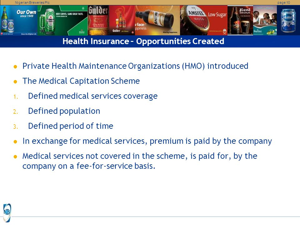 Health Insurance – Opportunities Created
