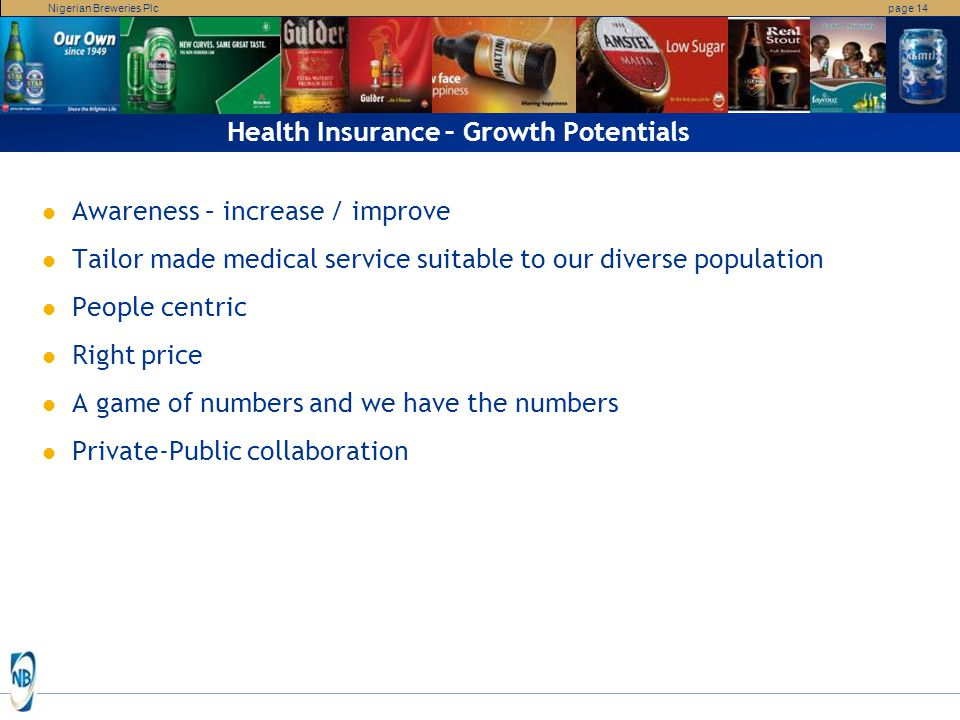 Health Insurance – Growth Potentials