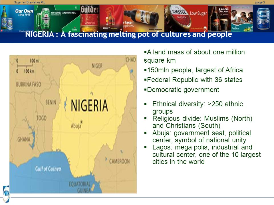 NIGERIA : A fascinating melting pot of cultures and people