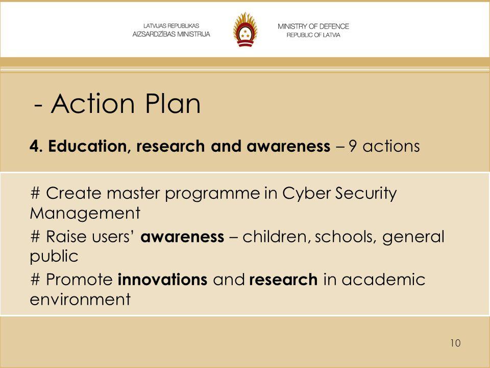 - Action Plan