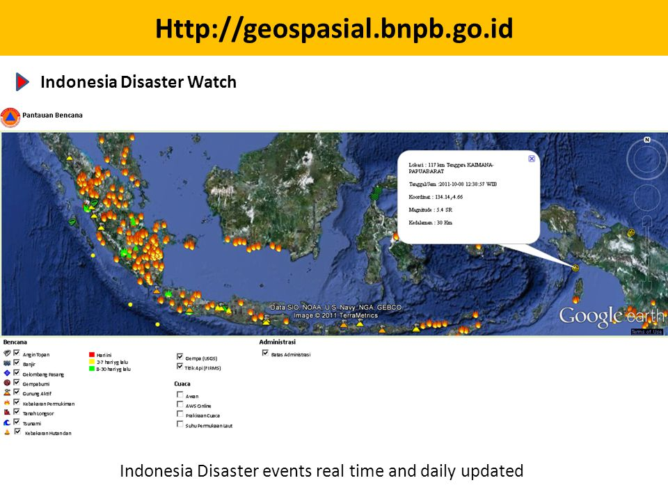 Indonesia Disaster Watch