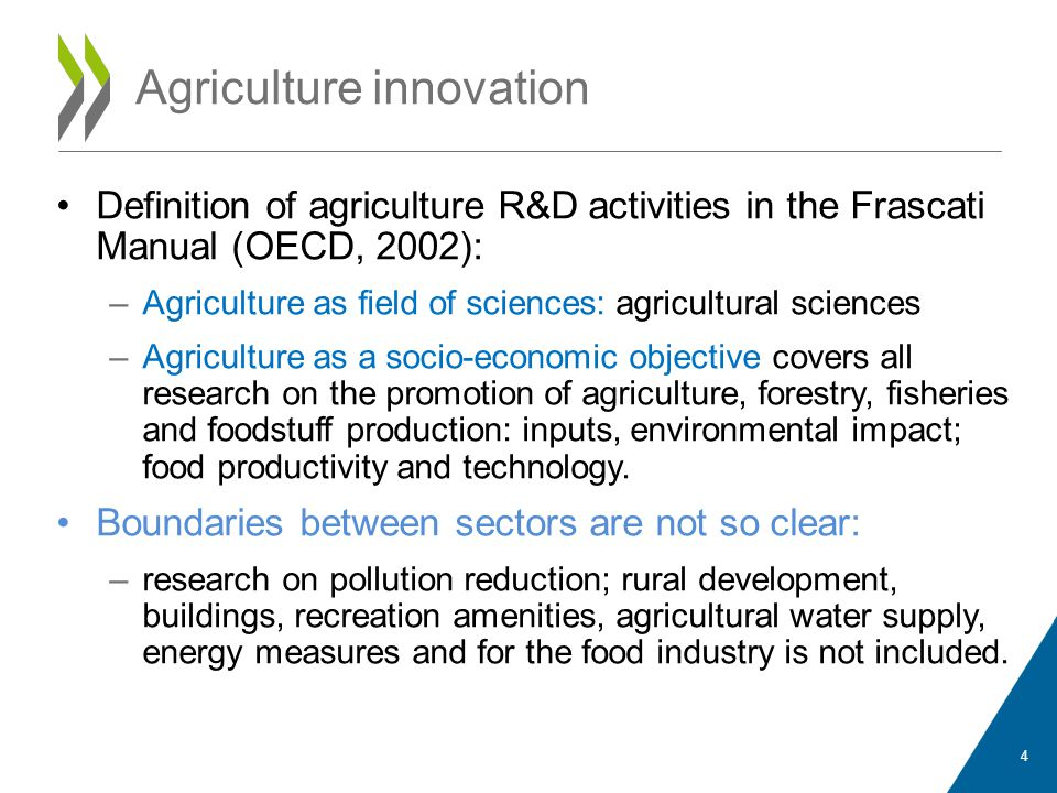 Agriculture innovation