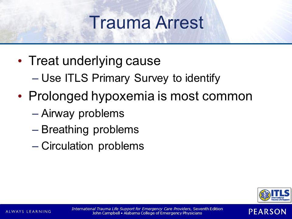 Causes of Trauma Arrest