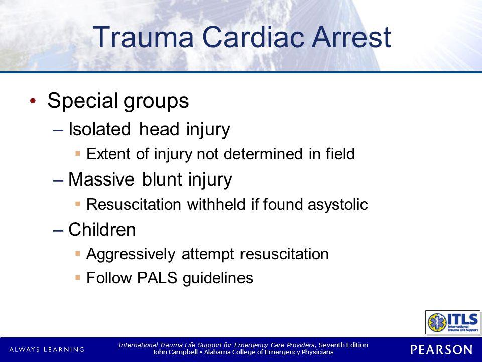 Pregnant Patients Pregnant trauma arrest Treatment priorities are same