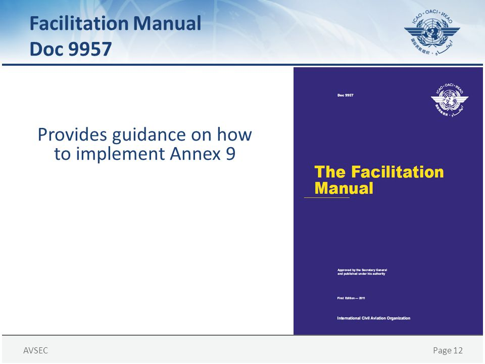 Facilitation Manual Doc 9957