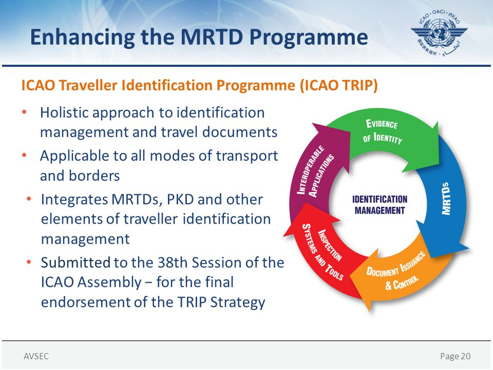 Enhancing the MRTD Programme
