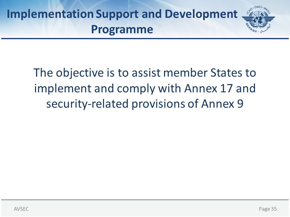 Implementation Support and Development Programme
