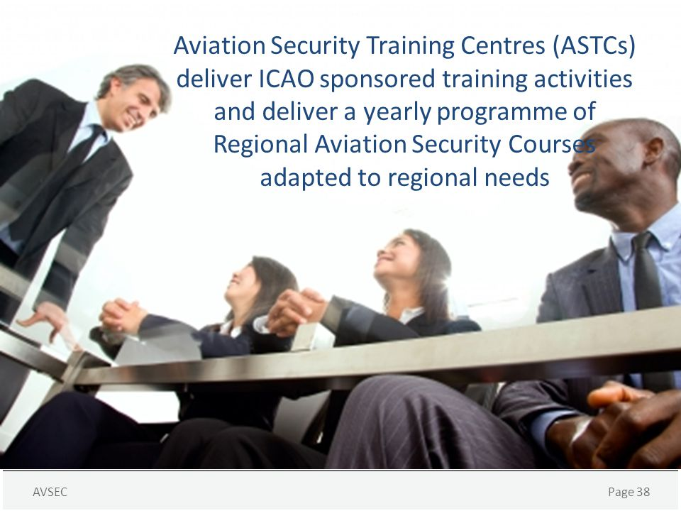 Regional Aviation Security Courses adapted to regional needs