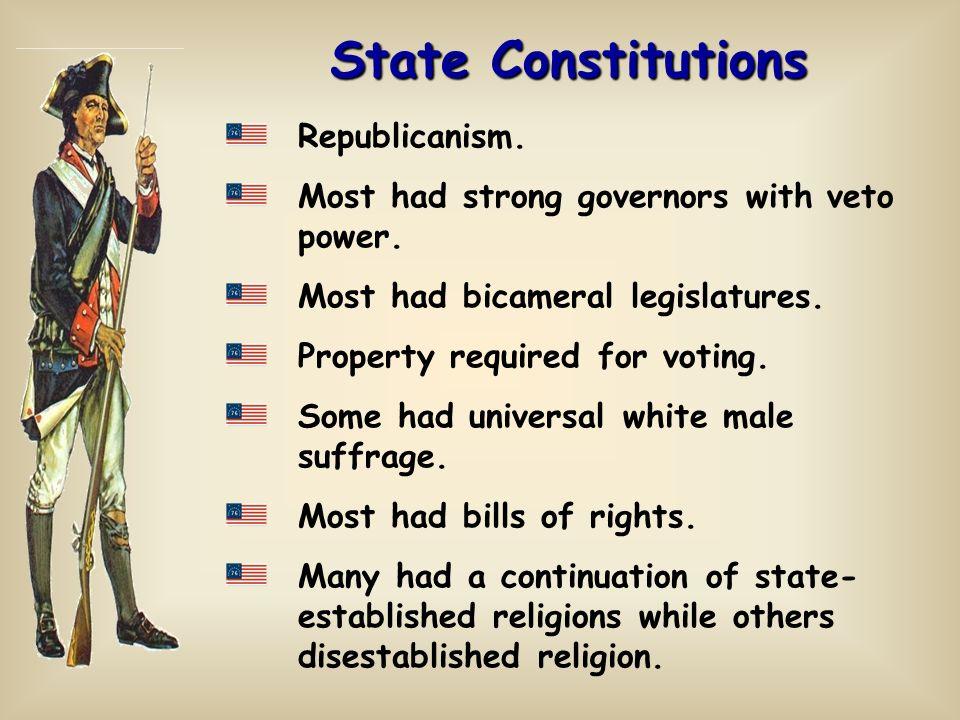 State Constitutions Republicanism.