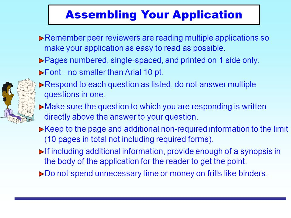 Assembling Your Application
