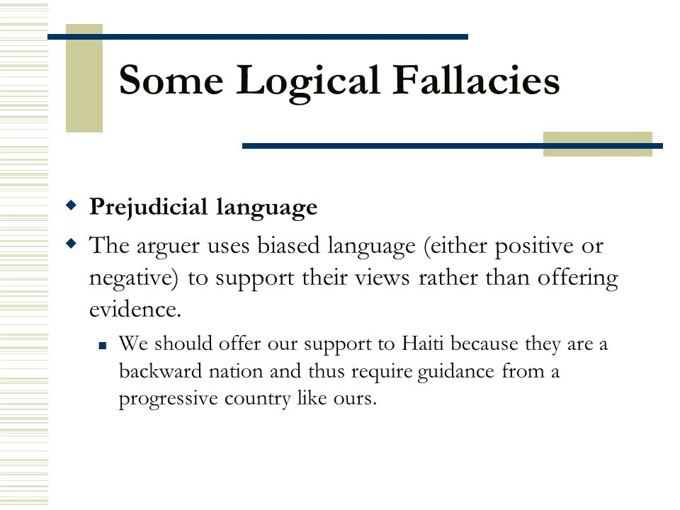 Some Logical Fallacies ppt download – Logical Fallacies Worksheet