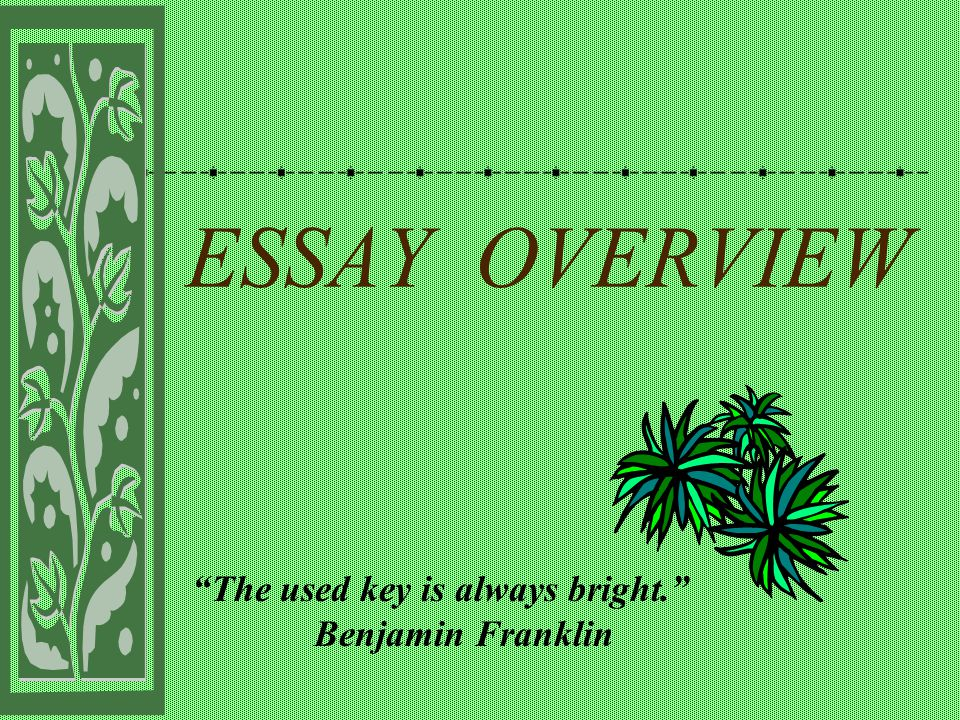 "the used key is always bright "" benjamin franklin ppt  benjamin franklin"