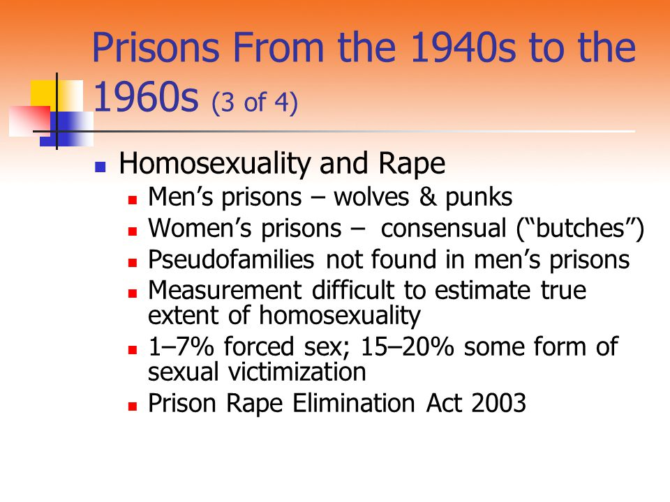Prisons From the 1940s to the 1960s (3 of 4)