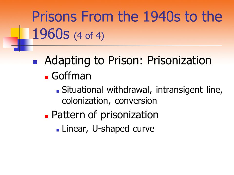 Prisons From the 1940s to the 1960s (4 of 4)
