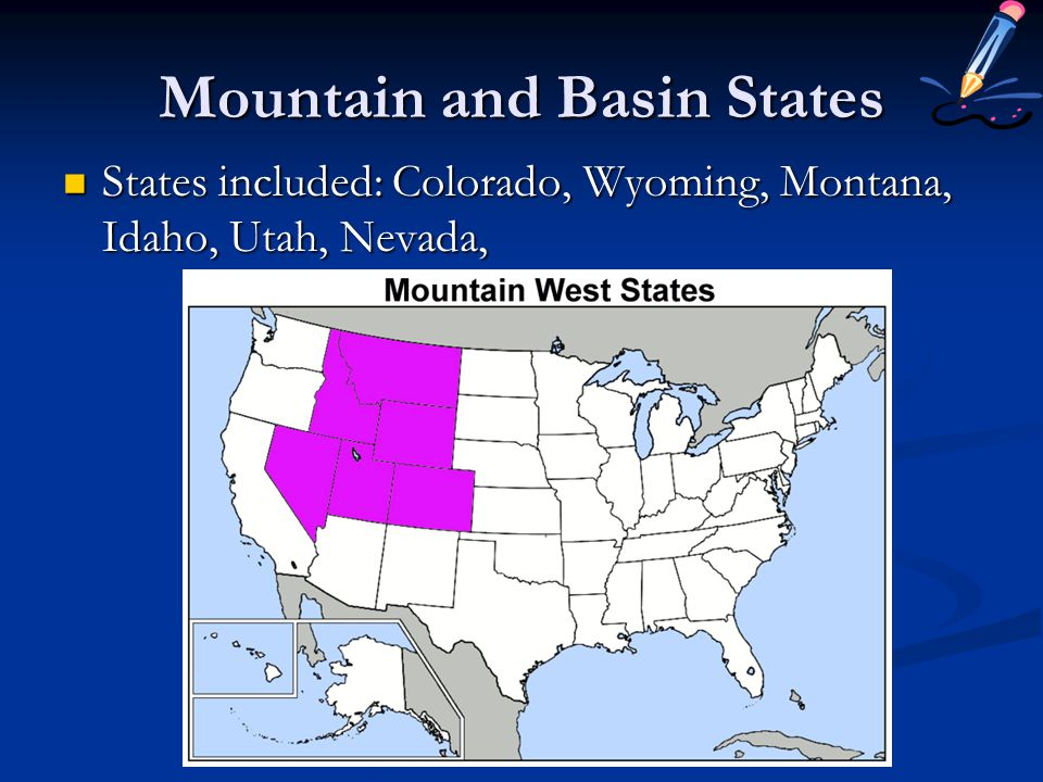 Mountain and Basin States