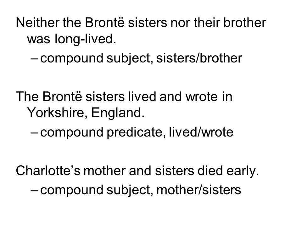 Neither the Brontë sisters nor their brother was long-lived.