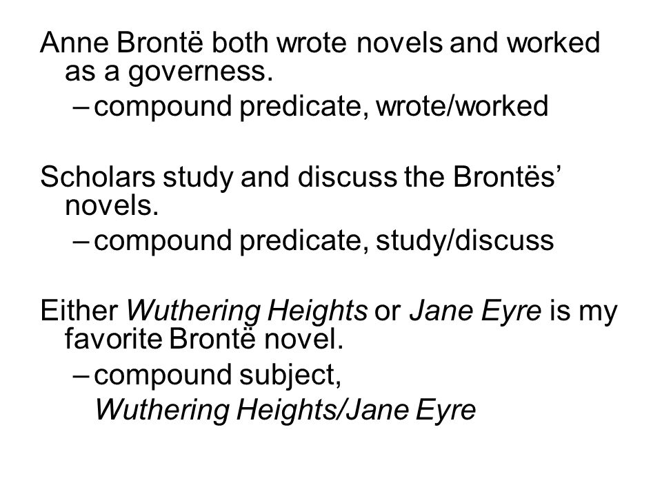 Anne Brontë both wrote novels and worked as a governess.