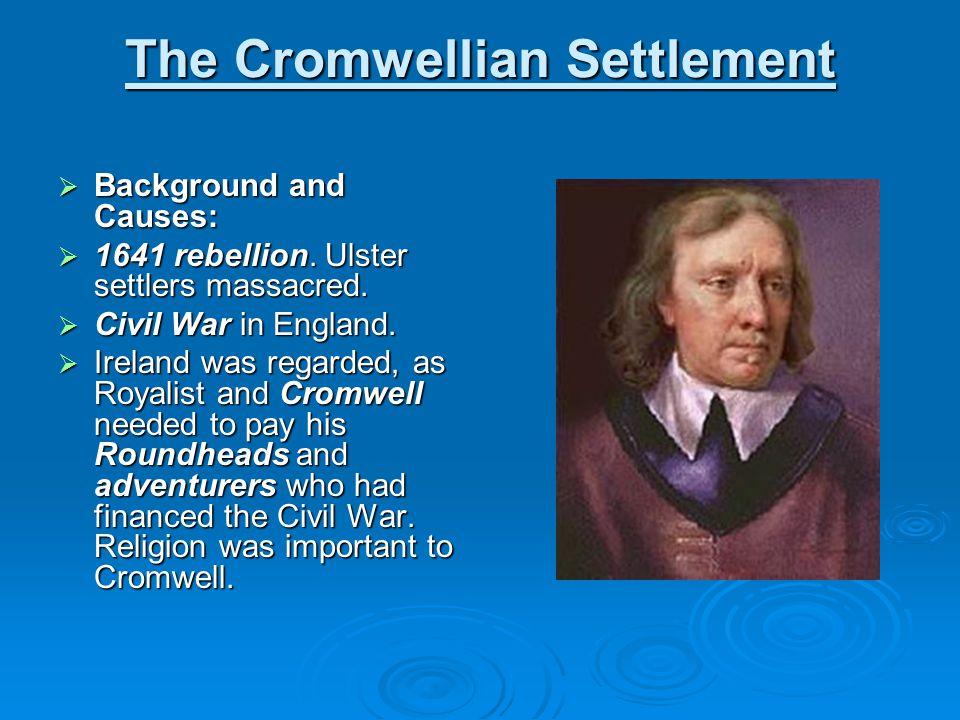 The Cromwellian Settlement