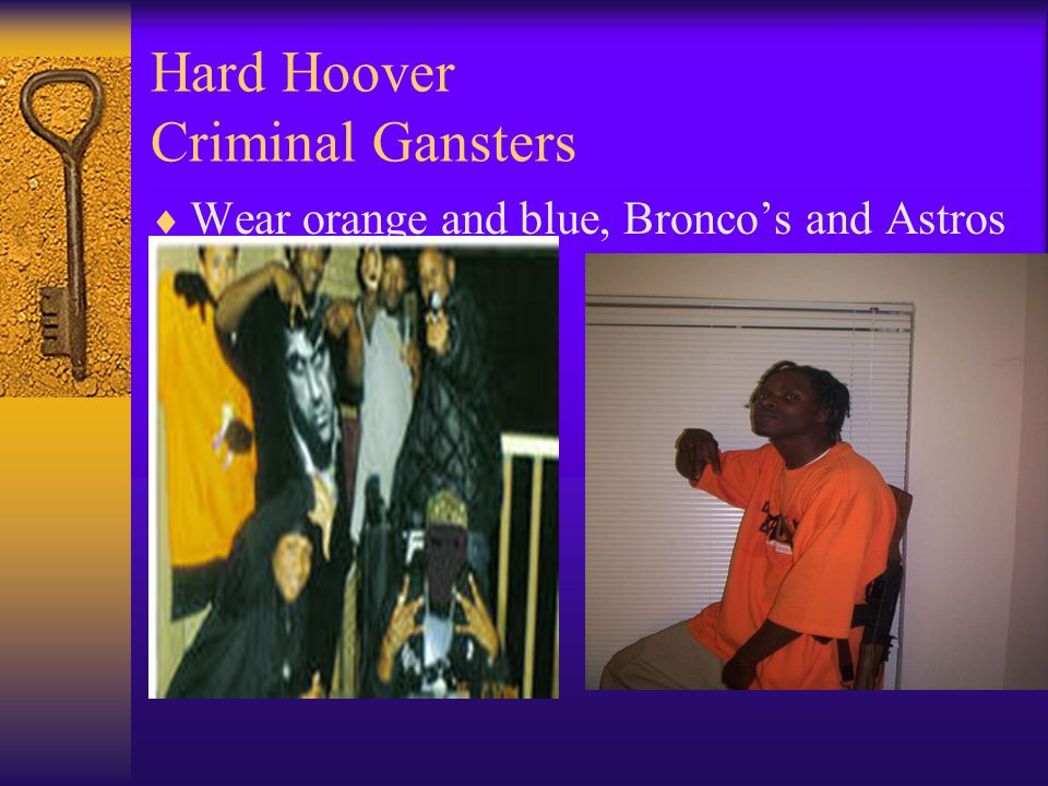 Hard Hoover Criminal Gansters