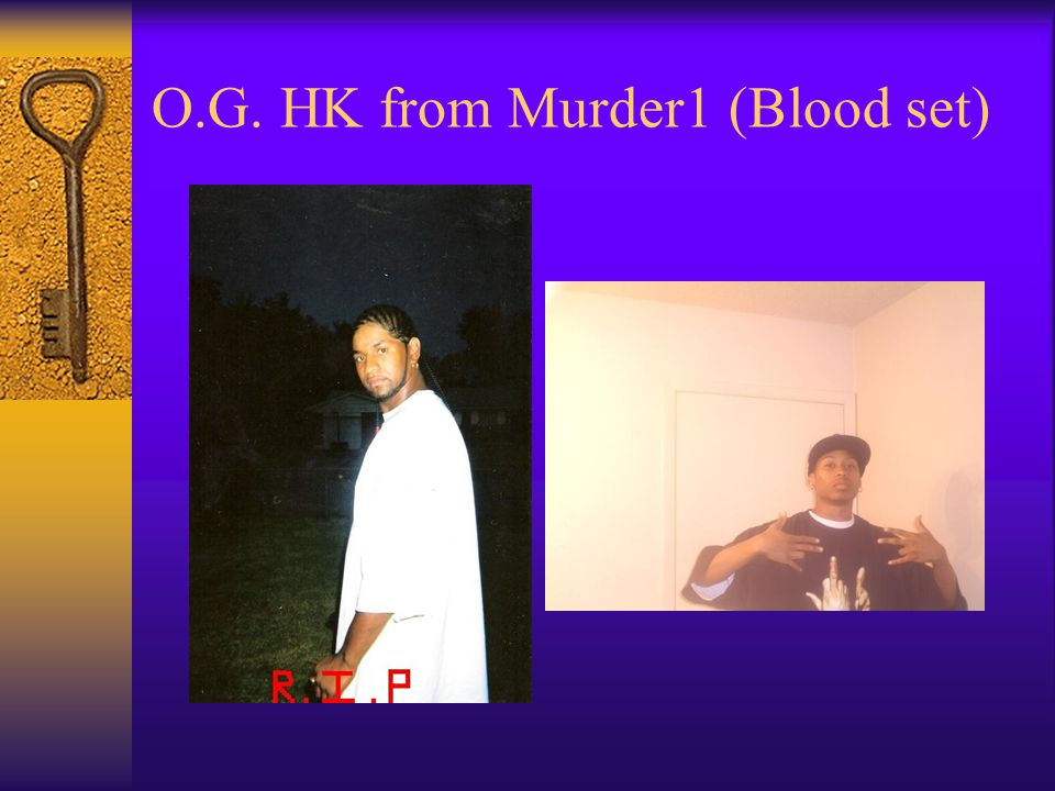 O.G. HK from Murder1 (Blood set)