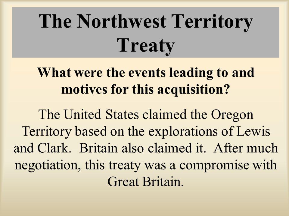 The Northwest Territory Treaty