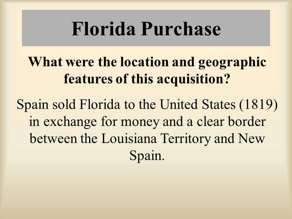 What were the location and geographic features of this acquisition