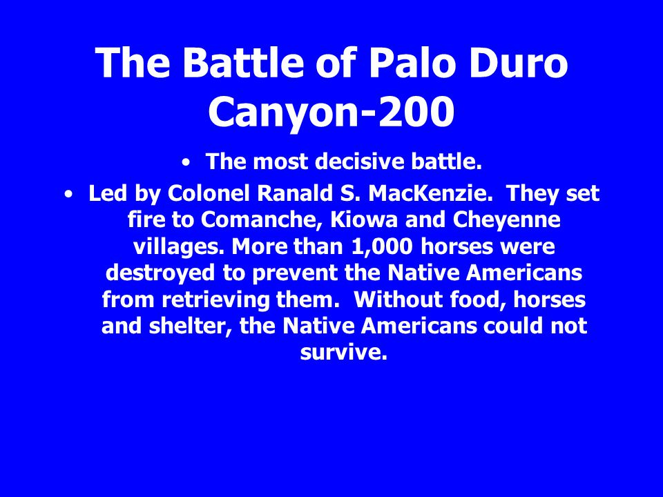 The Battle of Palo Duro Canyon-200