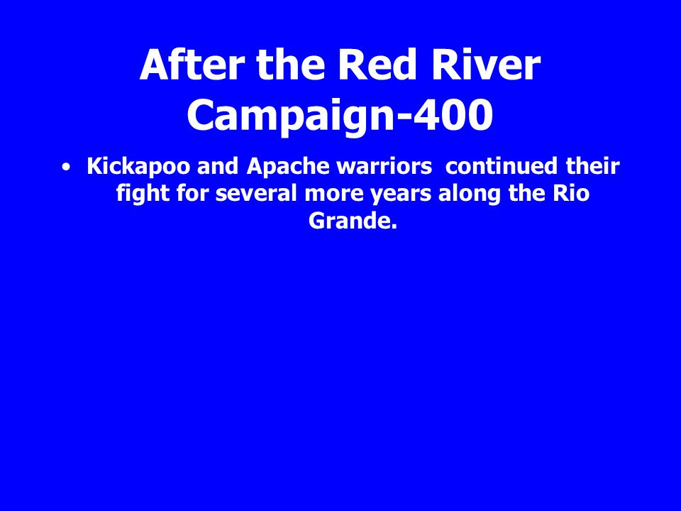 After the Red River Campaign-400