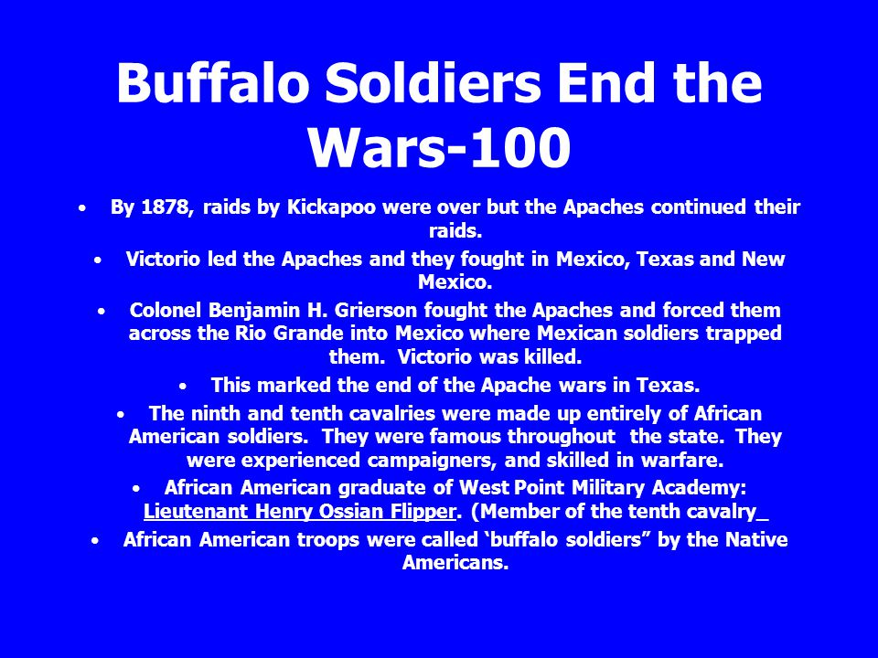 Buffalo Soldiers End the Wars-100