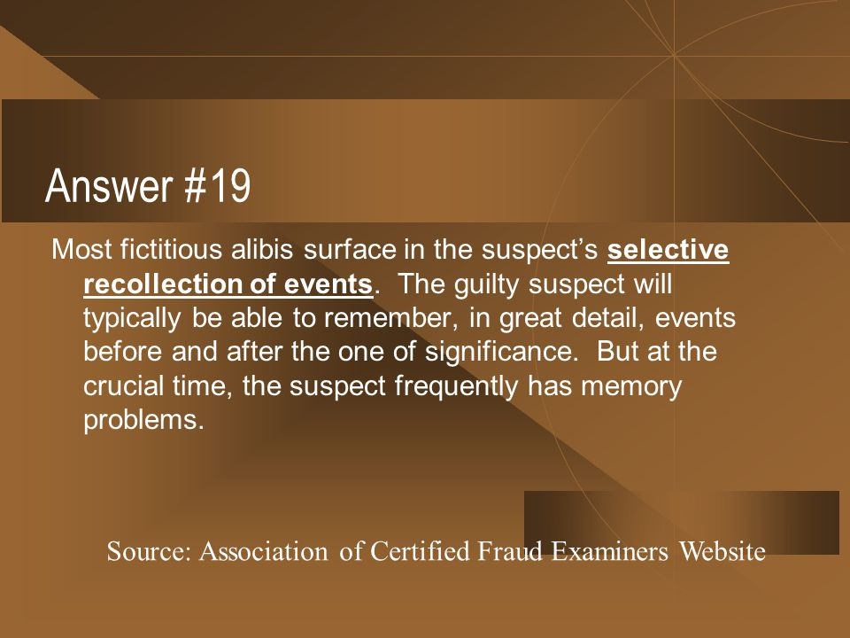 Answer #19