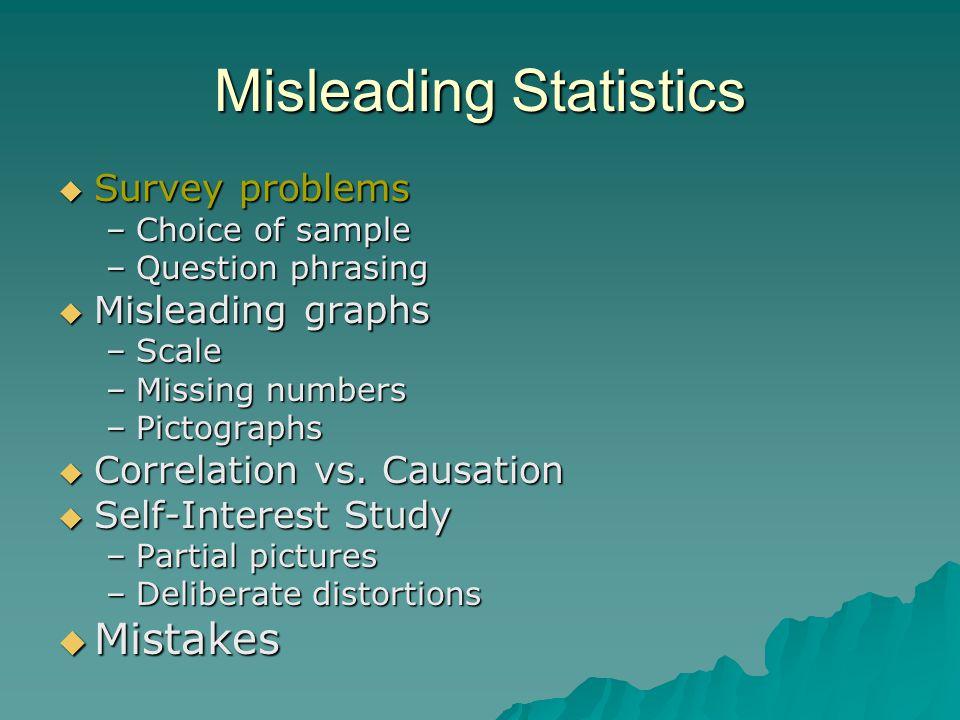 Misleading Statistics