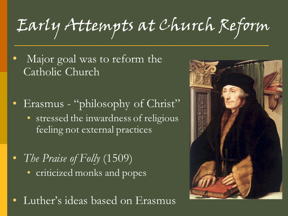 Early Attempts at Church Reform