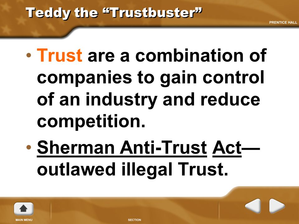 Teddy the Trustbuster